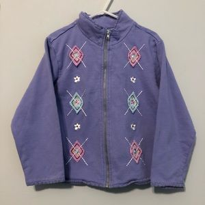 Vintage Gymboree Sweet Chic Periwinkle Jacket